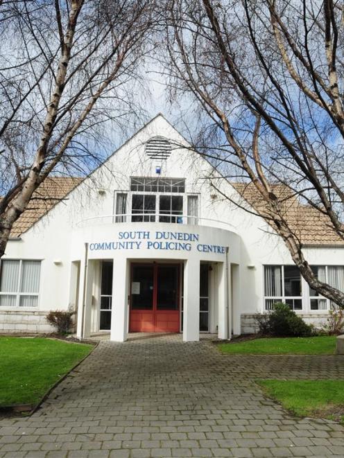 The South Dunedin Police Station. Photo by ODT.