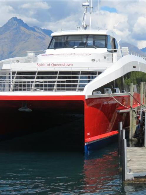 The  Spirit of Queenstown, operated by Southern Discoveries, was one of Queenstown's new...