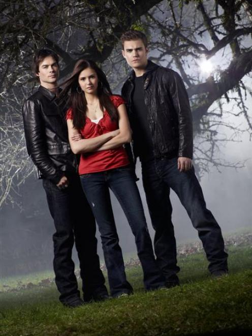 The spooky The Vampire Diaries is one of the treats TVNZ has in store for viewers next year....