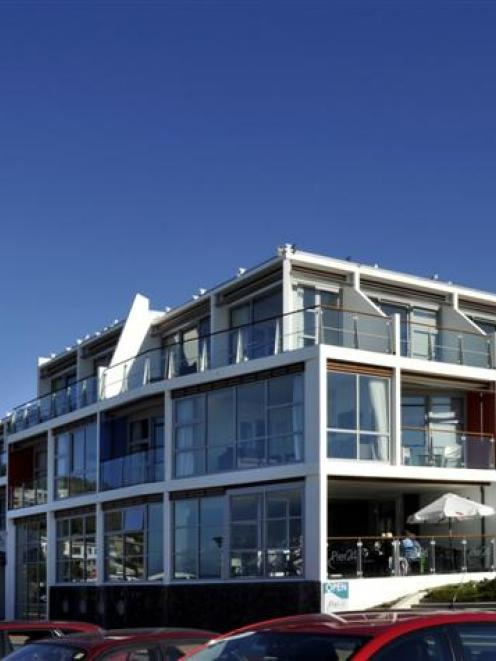 The St Clair Beach Resort (pictured) is now 100% owned by the property division of Dunedin...