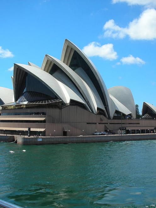 The Sydney Opera House, a landmark in what an annual survey lists as the world's third most...