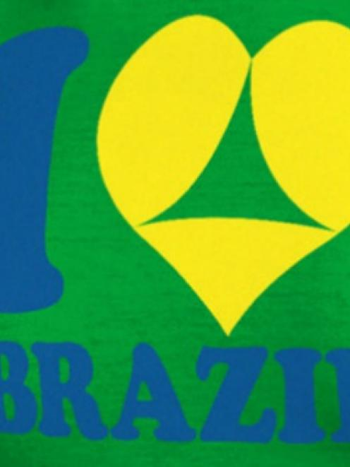 The t-shirts have touched a nerve in Brazil