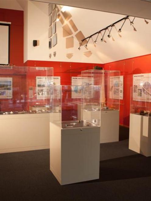 The taoka puoro Maori musical instrument exhibition at Dunedin Botanic Garden. Photos supplied.