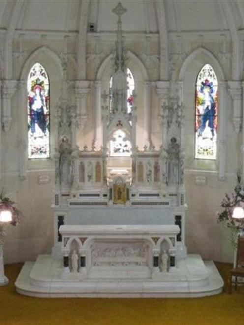 The Teschemakers Chapel altar. Photo supplied.