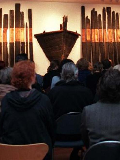 The theme of the poetic presentation at the Dunedin Public Art Gallery as part of the Wordstruck!...