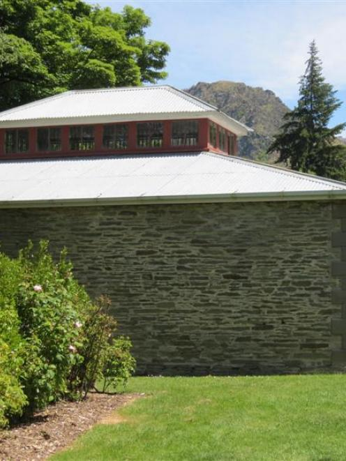 The time-worn exterior of the 137-year-old Arrowtown Jail. Photo by James Beech.