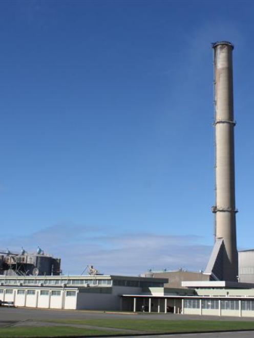 The Tiwai Point aluminium smelter. Photo by Allison Beckham.