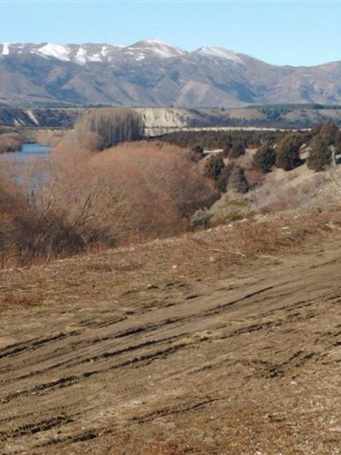 The Upper Clutha track above the Clutha River, near Wanaka Airport. Photos my John Fridd/ Mark...