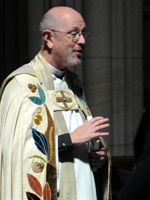 The Very Rev Dr Peter Elliott, rector of Christ Church Anglican Cathedral,  Vancouver,  preached...
