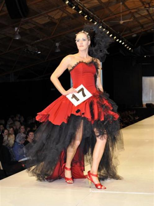 The VnC Avant-garde Section winning designer was Kerrie Williams, of Motueka