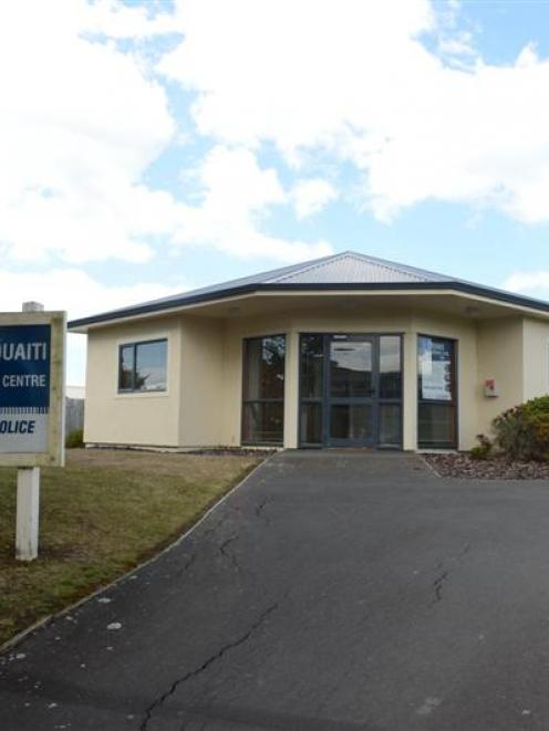 The Waikouaiti police station. Photo by Peter McIntosh.