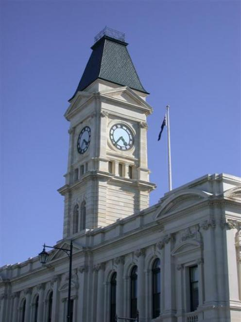 The Waitaki District Council's headquarters in Oamaru. The council will next week discuss what...