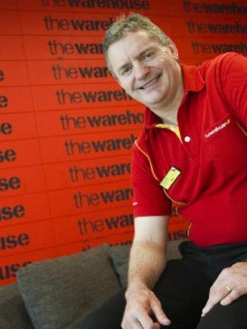 The Warehouse Group chief executive Mark Powell announced the establishment of a finance services...