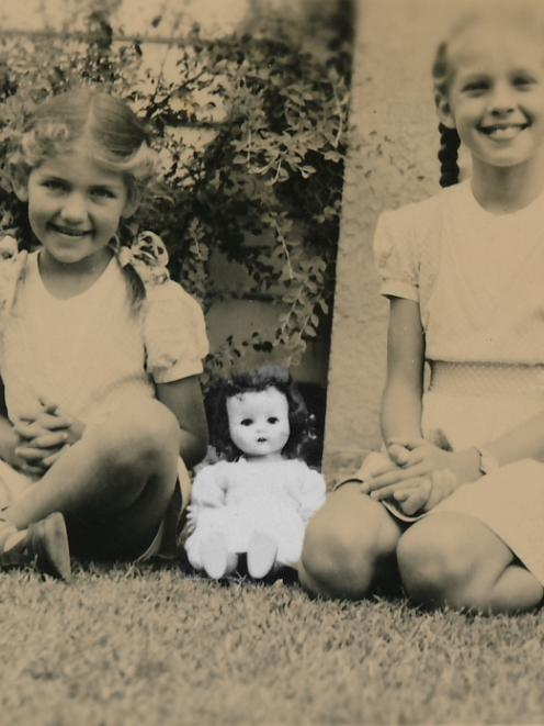 The way we were ... Margot Nash and her sister Diana, circa 1955, in a still shot from her...