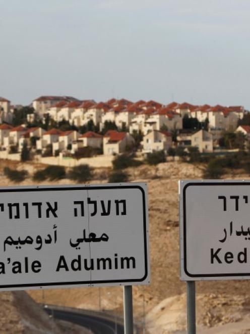 The West Bank Jewish settlement of Maale Adumim, near Jerusalem. Israel has announced plans to...