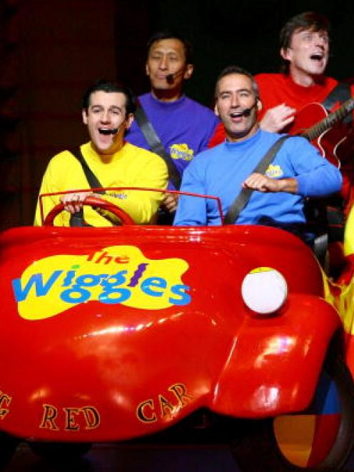The Wiggles in their Big Red Car. Photo Getty
