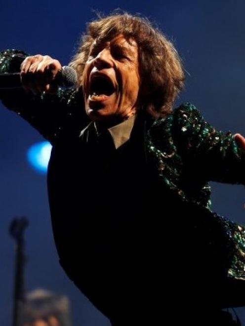 There are hopes that Mick Jagger might be strutting his stuff in the South next year. Photo Reuters