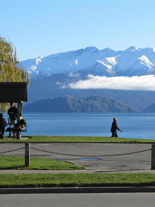 There are no plans for new buildings on this part of Roys Bay, Lake Wanaka, near the CBD, but...