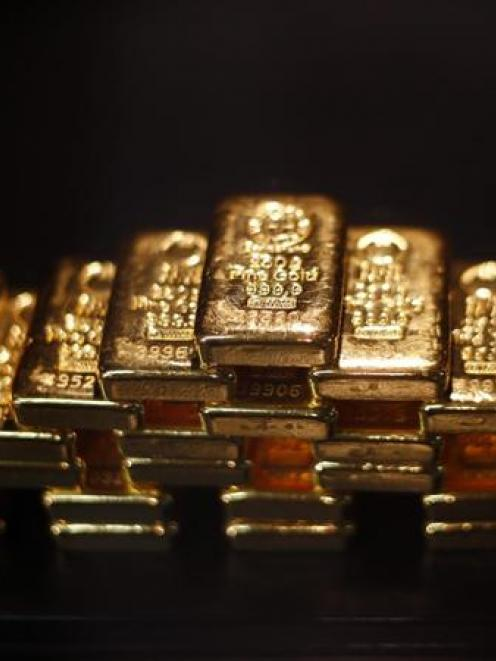 There have been peaks and flat patches in global gold trading in the past three months. Pictured:...