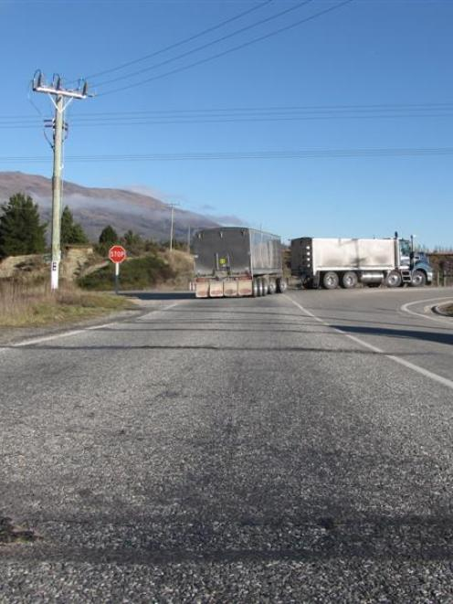 These rumble strips installed on Wanaka's Riverbank Rd six weeks ago as an interim traffic...