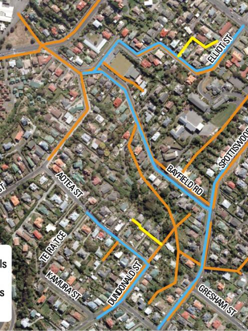 This area will be affected by major works over the next year, as the Dunedin City Council...