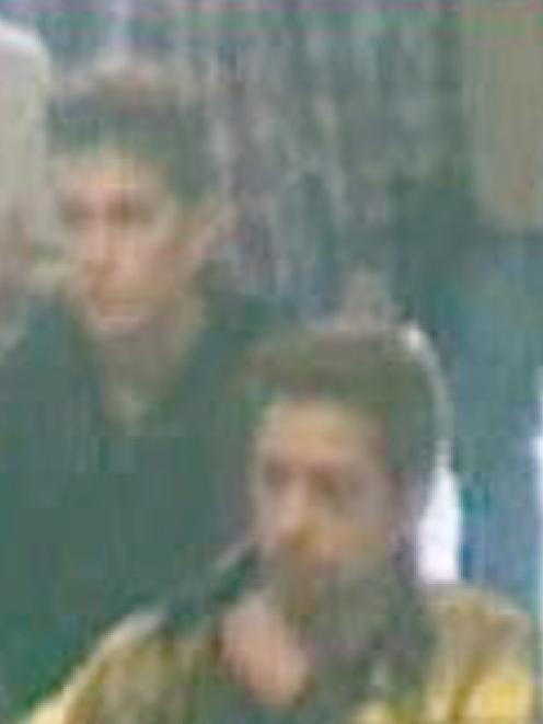 This image released by Interpol shows the two Iranians who were traveling with stolen passports...