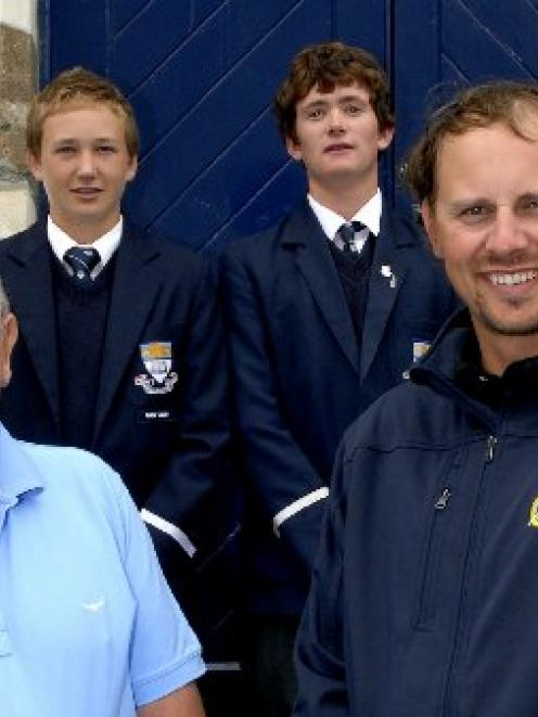 Three Otago Boys High School pupils have been invited to play in the inaugural City of Dunedin...