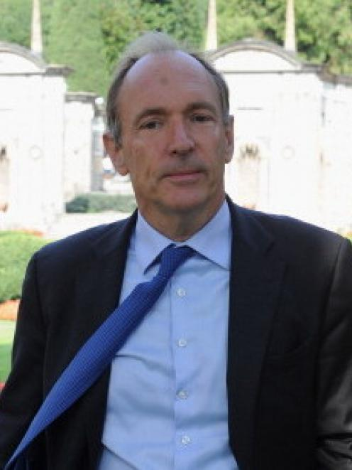 Tim Berners-Lee. Photo Getty