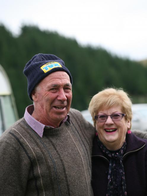 Timaru couple Hamish and Anne Steele are long-serving 