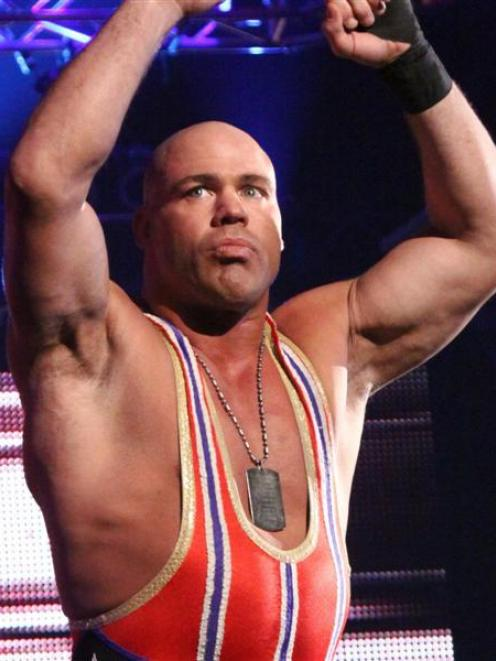 TNA Impact Wrestling star Kurt Angle. Photo supplied.