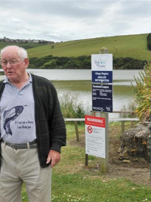 Tomahawk resident Bert Scott is waiting for the potentially toxic algal bloom to disappear before...