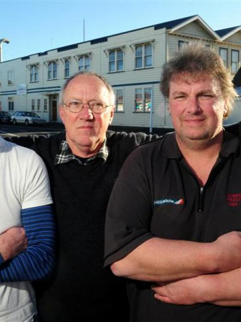 Tony, Kevin and John Gamble  have 82 years' experience at Dunedin's Hillside Engineering workshop...