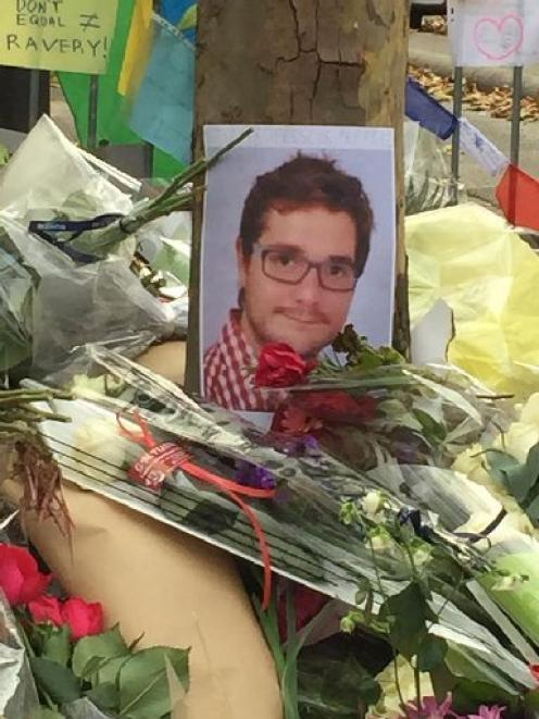 Romain Dunet died in the mass shooting at the Bataclan concert hall. PHOTO: SUPPLIED