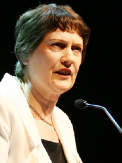 Prime Minister Helen Clark