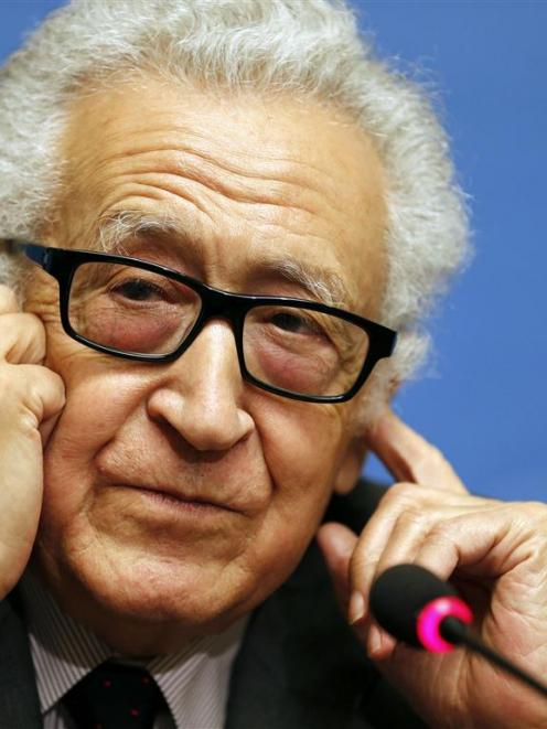 UN-Arab League envoy for Syria Lakhdar Brahimi. REUTERS/Jamal Saidi