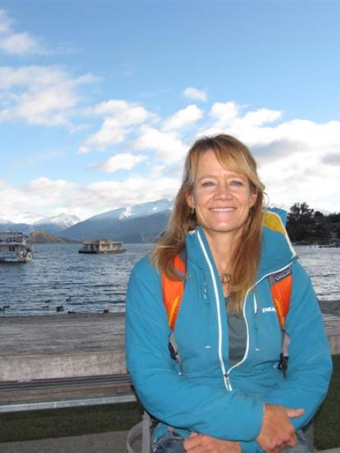 United States  mountain climber Kitty Calhoun has been impressed by New Zealand's dramatic...