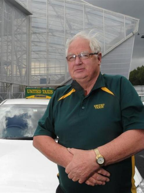 United Taxis director Bill Overton says a deal preventing his company from using a taxi rank at...