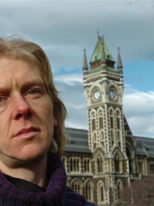 University of Otago biochemist Cushla McKinney reflects on her future in science. Photo by Peter...