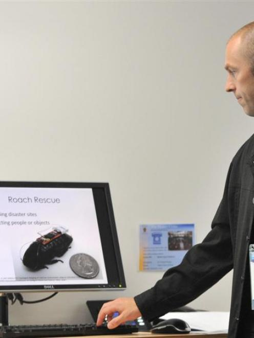 University of Otago bioethics lecturer Mike King discusses  remotely controlled ''cyborg...