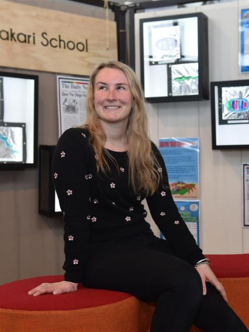 University of Otago Centre for Science Communication student Ali Rogers, who is completing a...