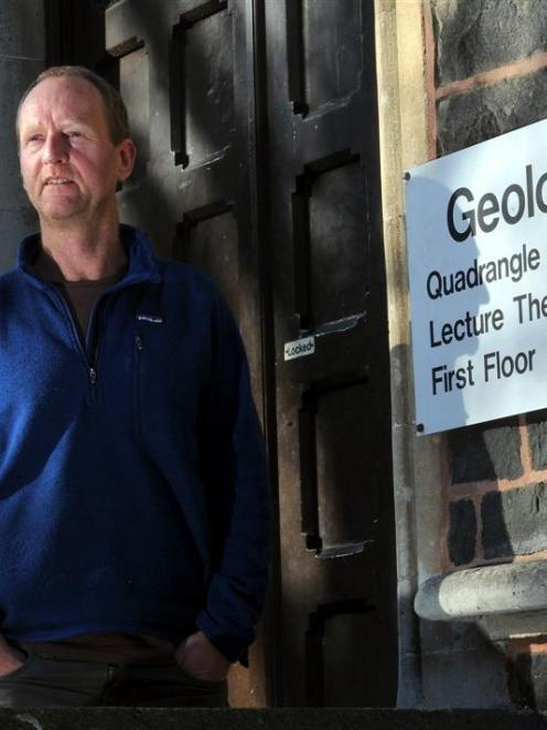 University of Otago department of geology head  Prof David Prior says having a chair in...
