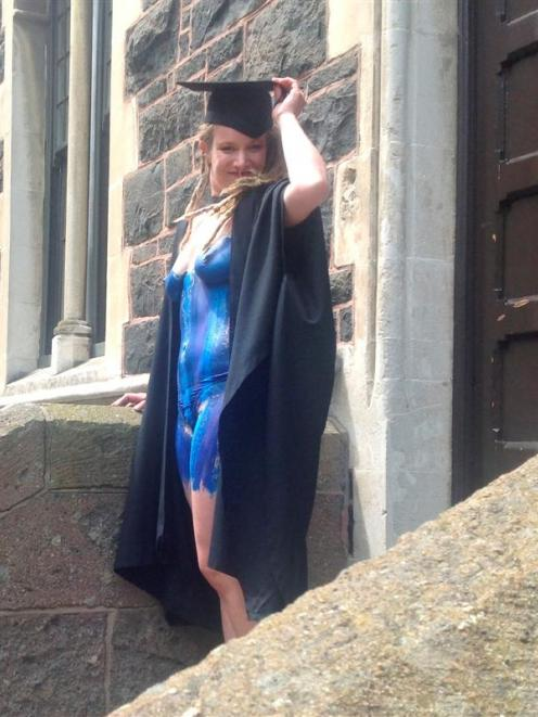 Graduation au naturel barely raises an eyebrow | Otago Daily Times ...