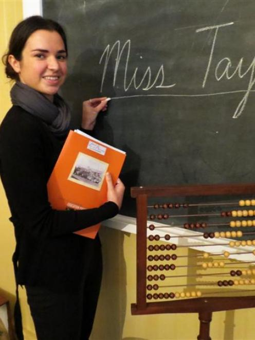 University of Otago graduate Amy Taylor says she is ''looking forward to making a positive...