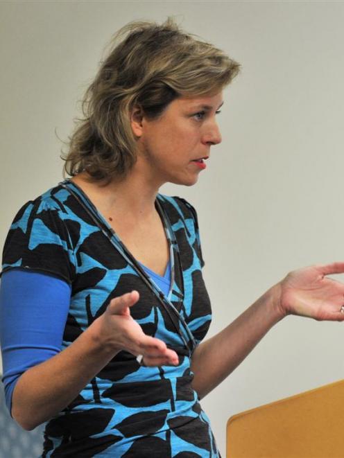 University of Otago media, film and communication senior lecturer Davinia Thornley talks about  ...