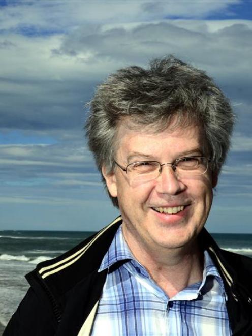 University of Otago senior lecturer Dr Ross Vennell celebrates winning a $940,000 Marsden Fund...