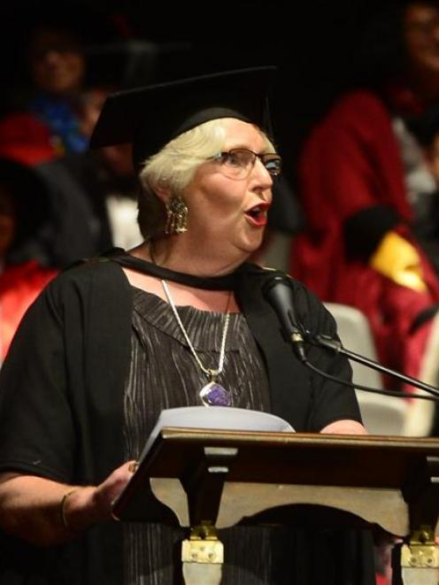 University of Otago senior lecturer in voice Judy Bellingham wants to see  more media recognition...
