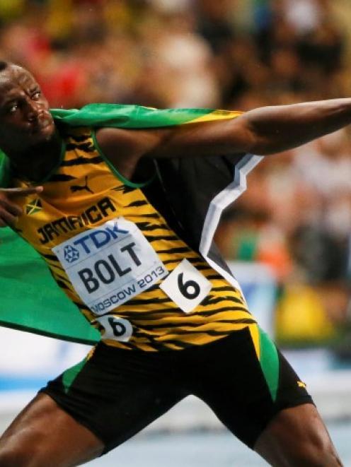 Usain Bolt. Photo Reuters