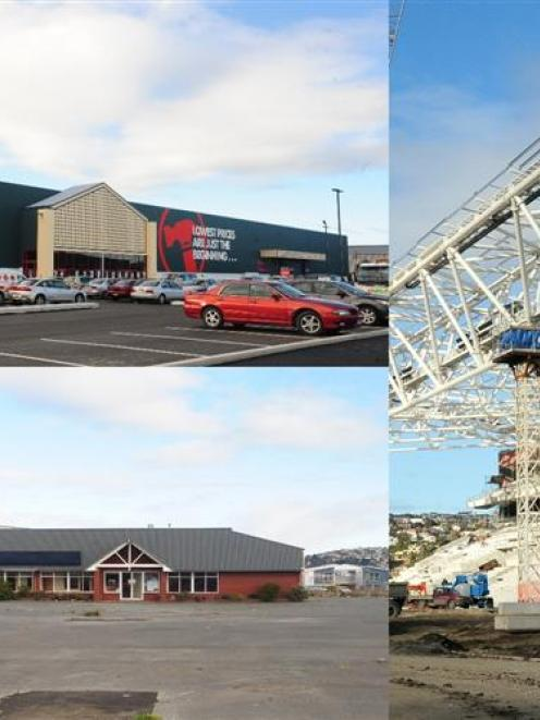 Valuers say one-off large Dunedin developments' land purchases should not impact on ground lease...