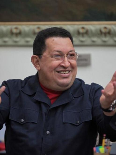 Venezuelan President Hugo Chavez has returned to Cuba for treatment. REUTERS/Handout/Miraflores...
