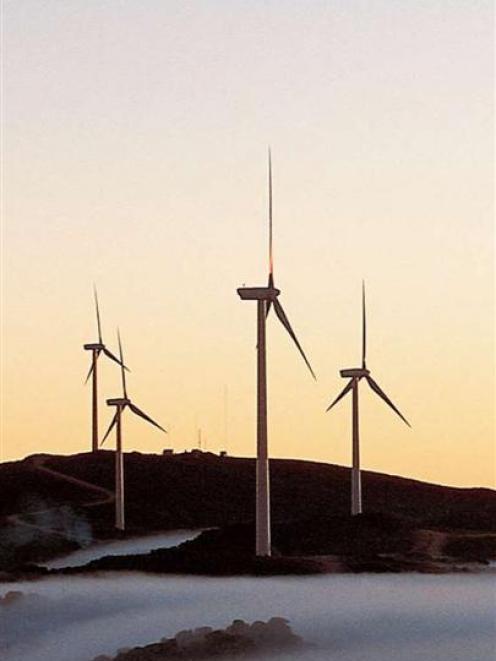 Vestas V90 wind turbines. Photo supplied.